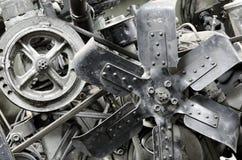 Motor antiguo viejo fotografía de archivo libre de regalías