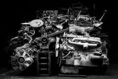 Motor auto de los recambios Foto de archivo libre de regalías