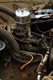 Motor auto viejo Imágenes de archivo libres de regalías