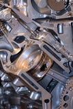 Motor automotor imagen de archivo libre de regalías