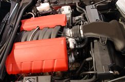 Motor automotor Imágenes de archivo libres de regalías