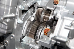 Motor automotriz imagen de archivo