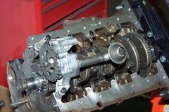 Motor av det diesel- anseendet Royaltyfria Bilder