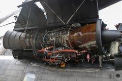 Motor av militära helikopterSikorsky CH-53 GUMMIN Arkivfoton