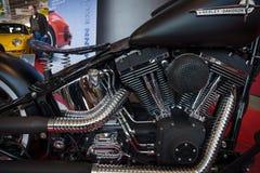 Motor av motorcykeln Harley-Davidson Heritage Special Softail, 2005 Royaltyfri Fotografi