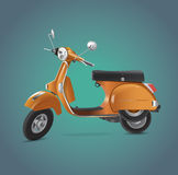 Motor bike Royalty Free Stock Photo