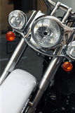 Motor bike detail Stock Photo
