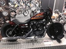 Motor Bike Expo 2015 Stock Photos