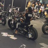 Motor Bike Expo 2015 Stock Images