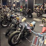 Motor Bike Expo 2015 Stock Image