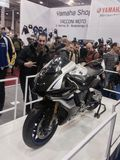 Motor Bike Expo 2015 Royalty Free Stock Images