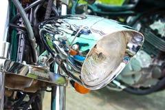 Motor Bike Headlight Royalty Free Stock Image