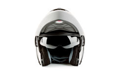 Motor bike helmet for road safety Stock Photos