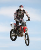 Motor Bike Stunt rider Royalty Free Stock Photo