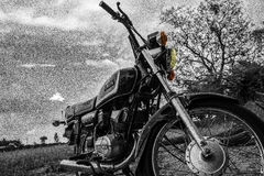 The motor bike Royalty Free Stock Image