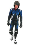 Motor biker Royalty Free Stock Photo