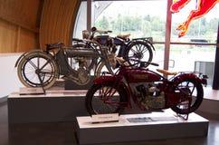 Motor bikes Stock Photo