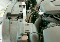 Motor (bilmotor) Royaltyfria Bilder