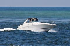 Motor boat. At the ocean Royalty Free Stock Photos