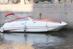 Motor boat Royalty Free Stock Photography