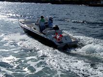 Free Motor Boat In Oslofjord Royalty Free Stock Photos - 2245798
