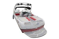 Motor boat isolated on a white background. Image of motor boat isolated on a white background Royalty Free Stock Image