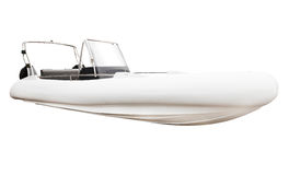 Motor boat isolated on white background Royalty Free Stock Photography