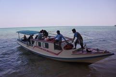 Motor boat Stock Photos