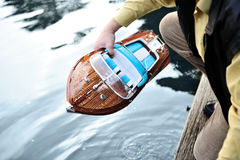 Motor Boat Repair Royalty Free Stock Images