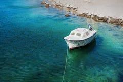 Motor boat at sea Royalty Free Stock Image