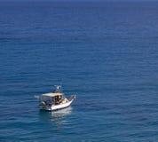 Motor boat on sea Royalty Free Stock Photo