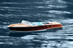 Motor Boat Side View Royalty Free Stock Images
