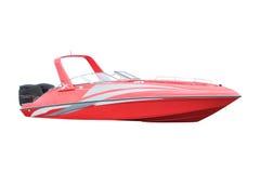 Motor boat. Under the white background Royalty Free Stock Image