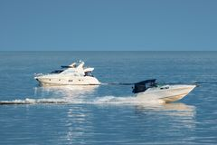 Motor boats-2 Royalty Free Stock Photo