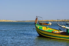 Motor Boats at the Beach Royalty Free Stock Images