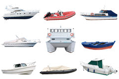 Motor boats Royalty Free Stock Image