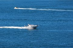 Motor boats Stock Photography