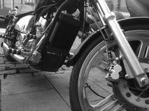 Motor brilhante da motocicleta do chooper Imagem de Stock Royalty Free