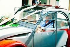 Motor car in the city street. Saint Tropez, France - November 1, 2015: Motor car in the city street Stock Photo