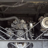 Motor car engine Stock Photography