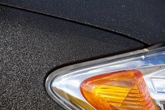 Motor car head lamp. Orange motor car head lamp with orange indicator light Stock Image