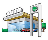 Motor-car industry Royalty Free Stock Image