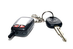 Motor-car keys Royalty Free Stock Image