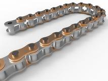 Motor chain illustration Stock Photo