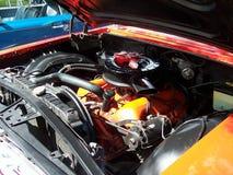 Motor clásico 1960 del impala de Chevy del coche foto de archivo libre de regalías