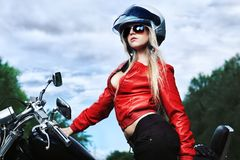 Motor clothes Stock Photography