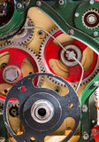 Motor Cogs Royalty Free Stock Photography
