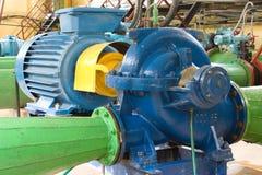 Motor con la bomba Imagen de archivo