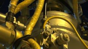 Motor contínuo reativo do foguete filme