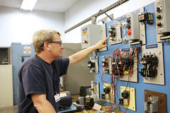 Motor Control Center Stock Image